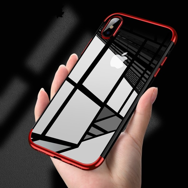 pretty nice 58e34 85c7c Ultra Thin Transparent Case For iPhone X